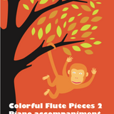 Colorful Flute Pieces 2 Piano Accompaniment